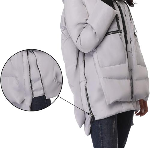 FADSHOW Down Jackets Warm Parka