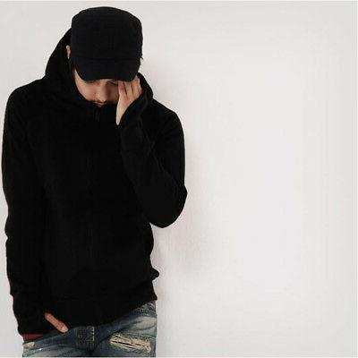 Fashion Winter Warm Hoodies Hooded Fit Jacket Tops