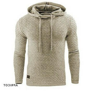 Fashion Warm Hooded Sweater Coat Jacket