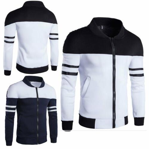 fashion mens coat jacket outwear sweater winter