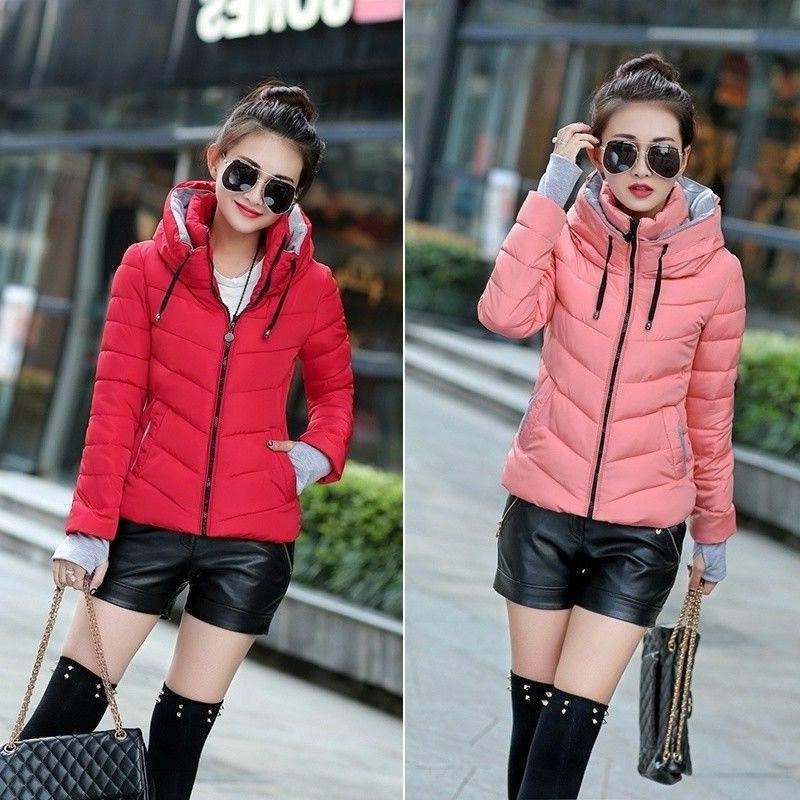 Fashion Winter Cotton-padded Down Jacket Coat Thicken