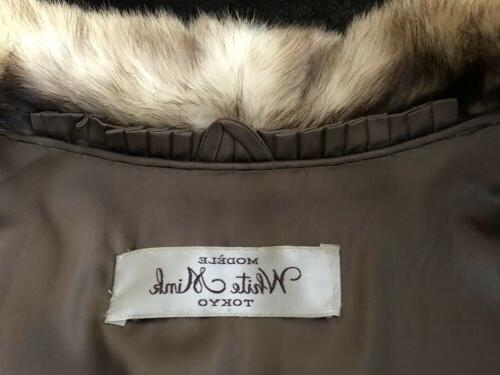 Vintage MINK Coat Originally White