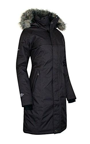 COLUMBIA Flurry Down Jacket Coat Hooded Parka