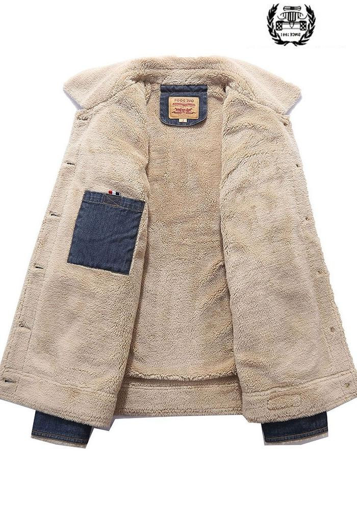 <font><b>Winter</b></font> Collar Denim <font><b>Jackets</b></font> <font><b>Coats</b></font> Parkas Thicken Military <font><b>Jackets</b></font> <font><b>Coat</b></font> Business