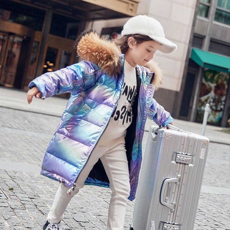 Free Girl Jacket Child Fur Outerwear