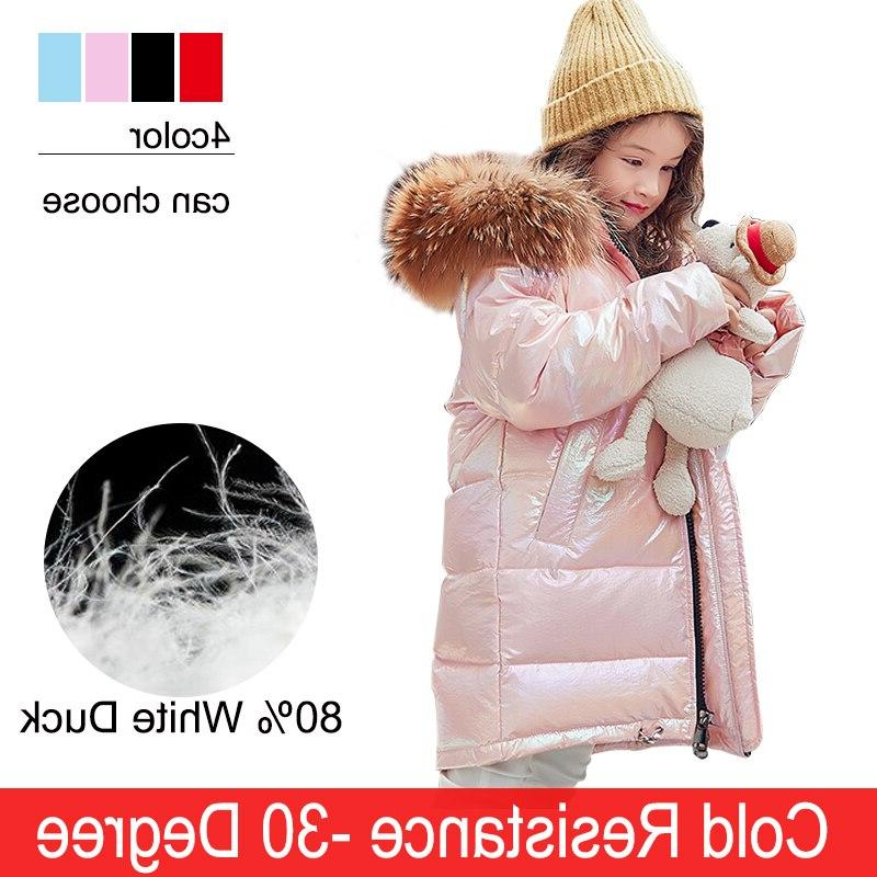 Free Fashion Girl Down Child Fur Outerwear For