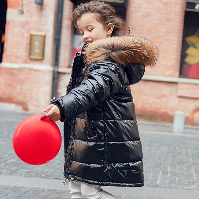 Girl Warm Child Fur Thickening Outerwear
