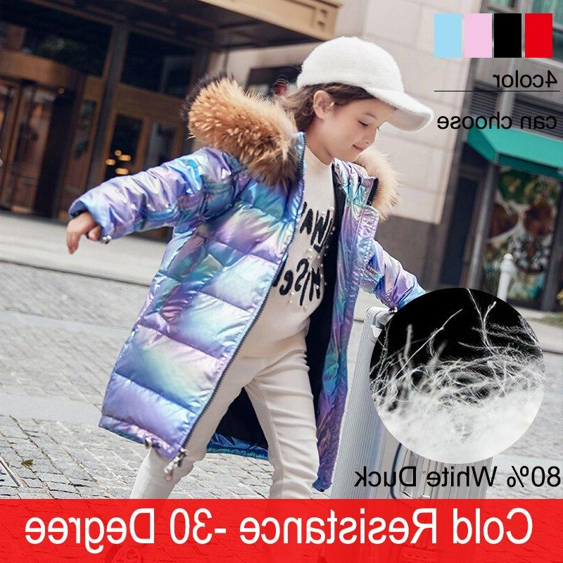 free shipping fashion brand girl down jacket
