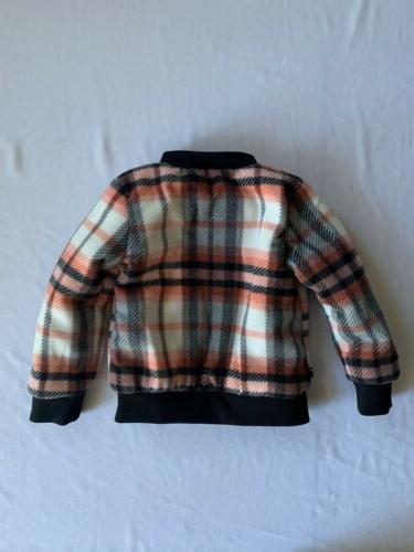 Tommy Hilfiger Girls Plaid Insulated Jacket Size