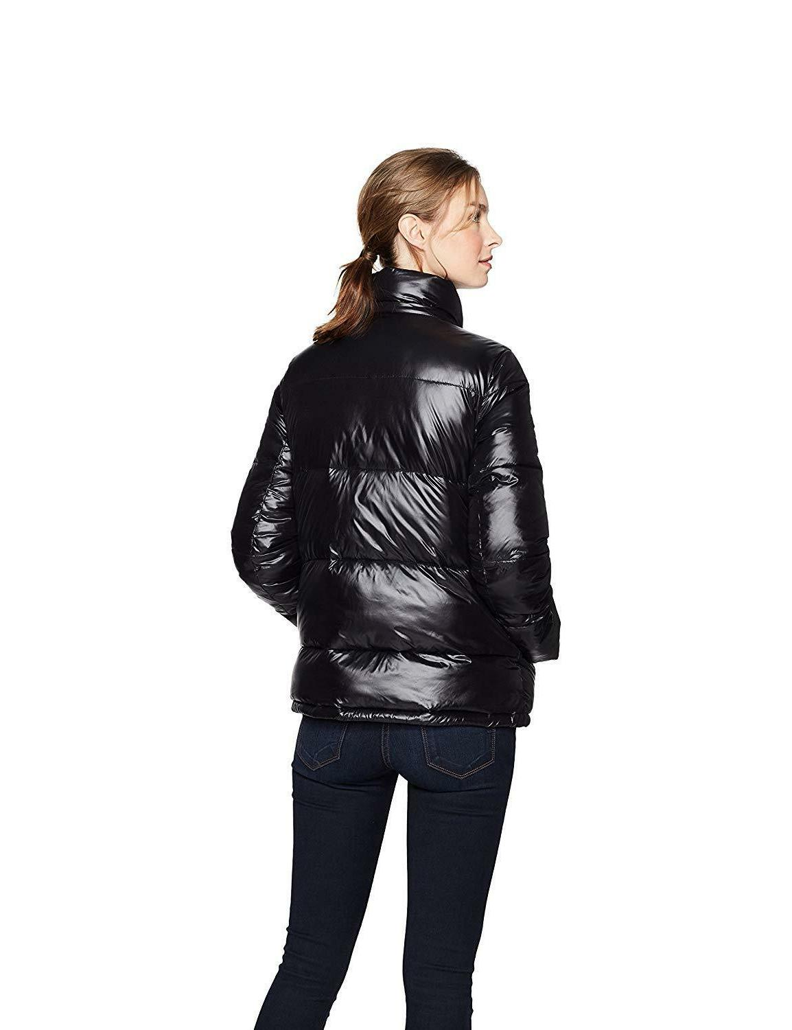 Haven Outerwear Quilted Funnel-Neck Puffer