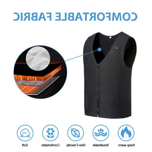 Heated Warm Electric Men Thermal