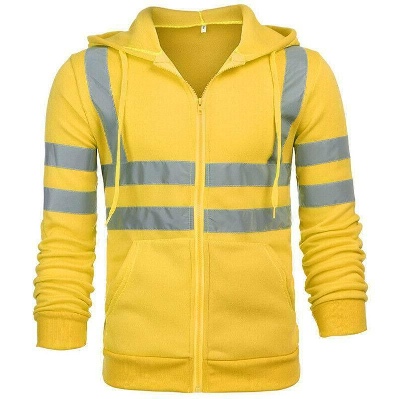 Hi Hooded Jacket Safety Work Insulated