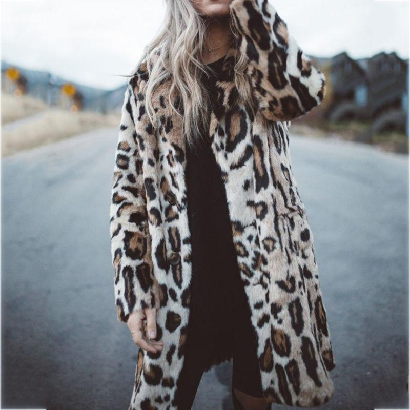 Hot Sale Winter Faux Leopard