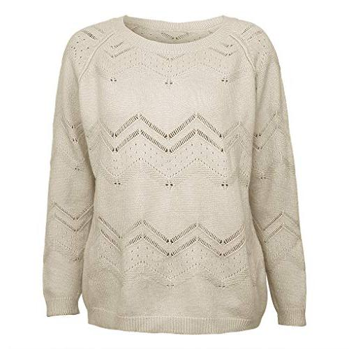 irene inevent Loose Sweater Knit Jumper Women Ladies Knitted