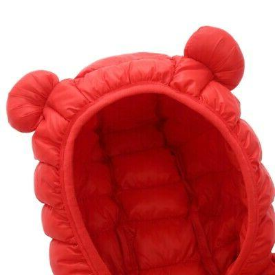 Toddler Babys Winter Hooded Coat