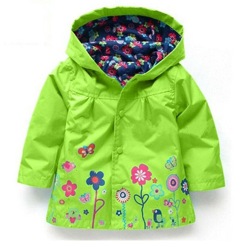 Toddler Hooded Coats Windbreaker Clothes