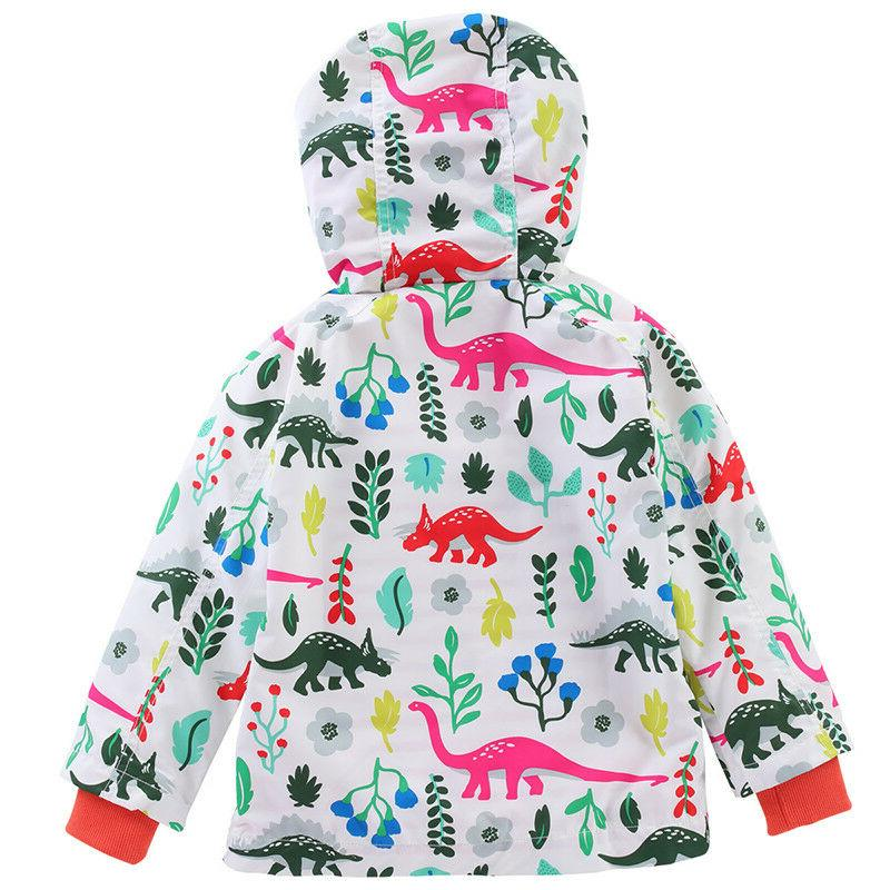 Toddler Hooded Coats Windbreaker Clothes Outwear
