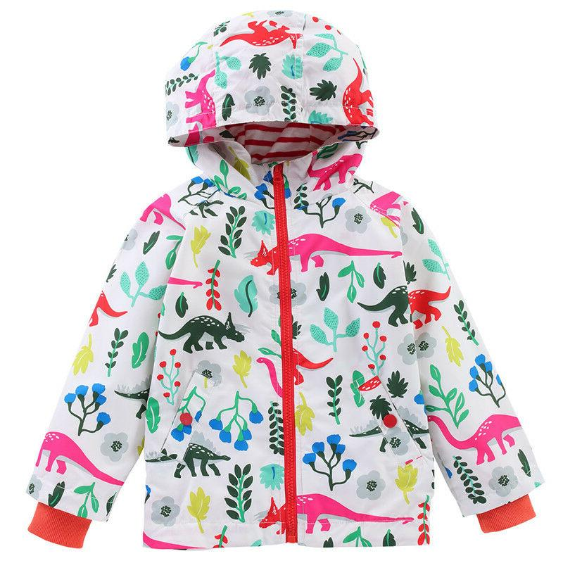 Toddler Boys Girls Hooded Coats Snow Windbreaker Clothes