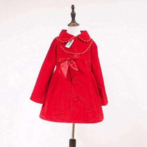Kids Girls Trench Wind Jackets