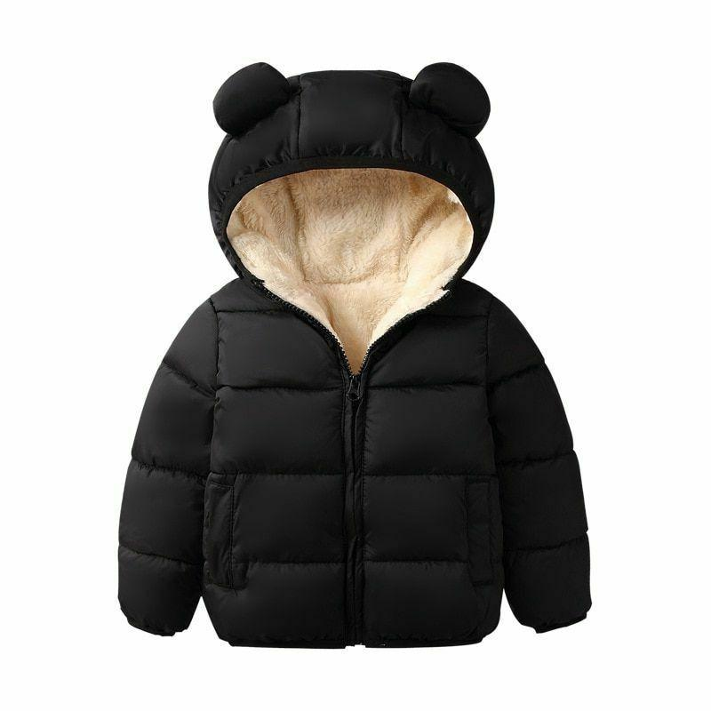 Kids Jacket Hooded Coat Autumn Children
