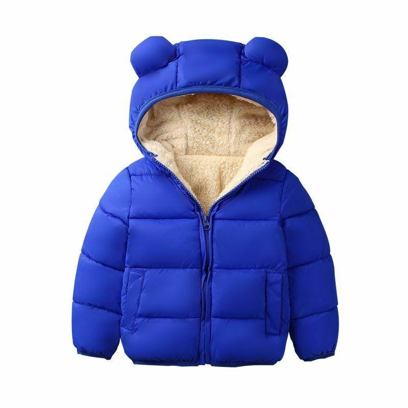 Kids Hooded Coat Children