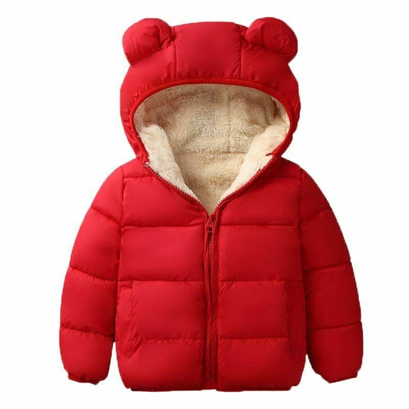 Kids Jacket Hooded Autumn Children Clothes Apparels