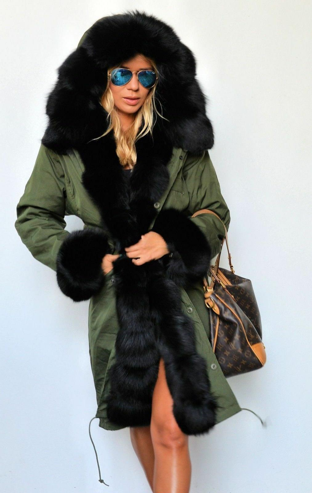 Womens Winter Warm Parka