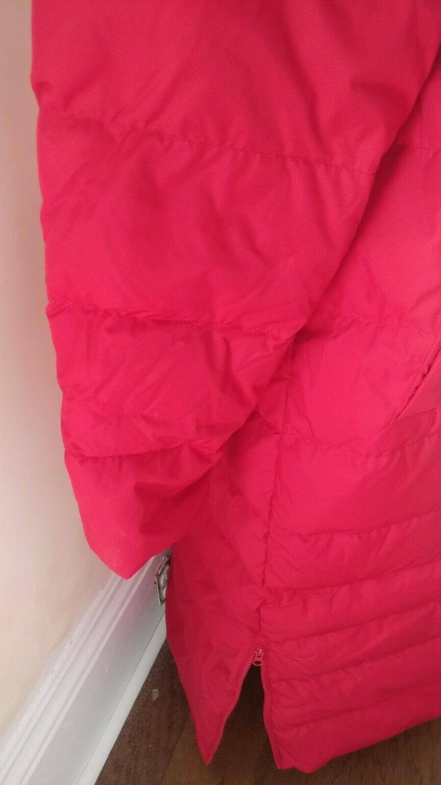 Lands XL Women's Winter Down with Fur Red $239