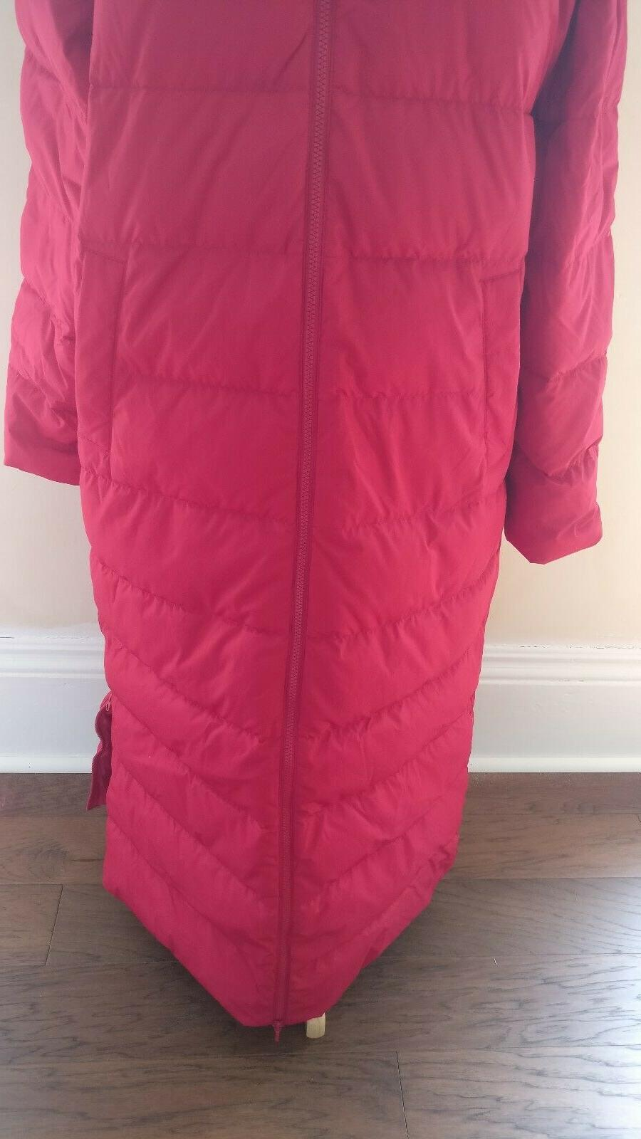 Lands End Women's Winter with Faux Fur Hood Red $239