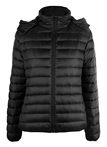 lightweight hooded down jacket us