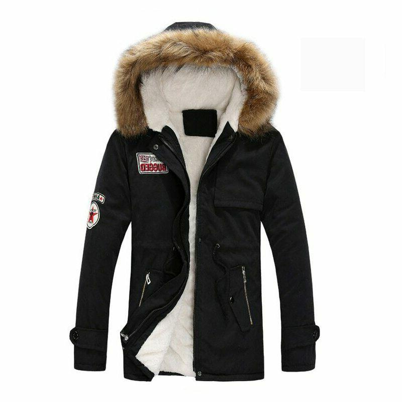 men coats winter jacket men slim thicken