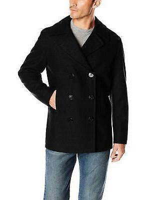 men s double breasted wool peacoat choose