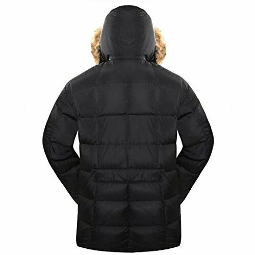 With Fur 90% Parka Winter