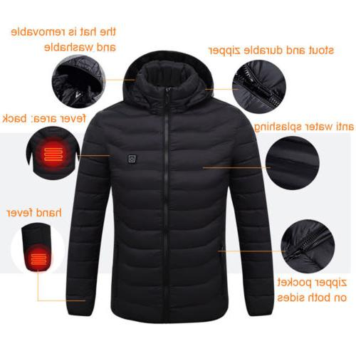 Men's Hoodie Jacket Adjustable