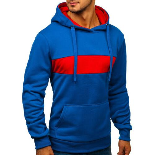 Men's Fashion Warm Sweatshirt Sweater Coat