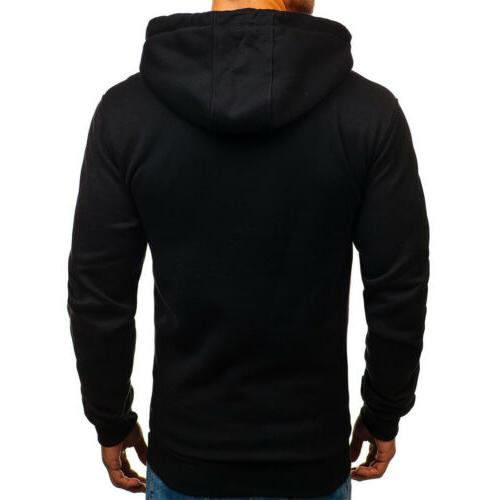 Men's Fashion Warm Hooded Coat