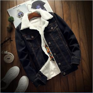 Men's Coat Jean Jacket S-6XL