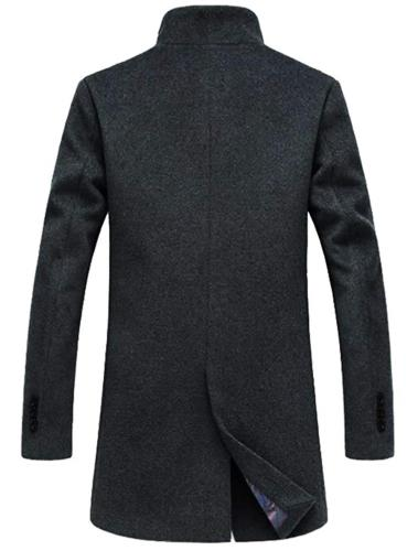 Mordenmiss French Woolen Coat Down Jacket Trench