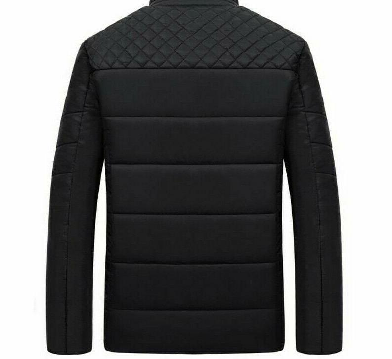 Men's Jackets and Coats Patchwork Outwear