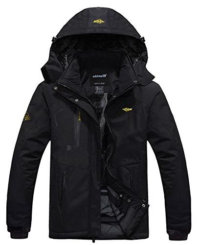 men s mountain waterproof ski jacket windproof