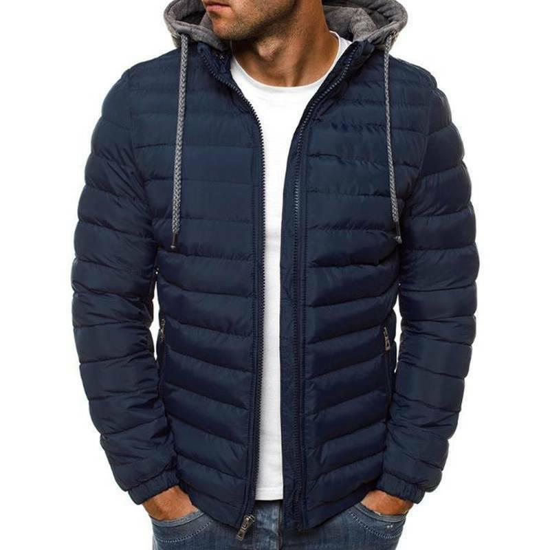 Men's Puffer Bubble Down Coat Quilted