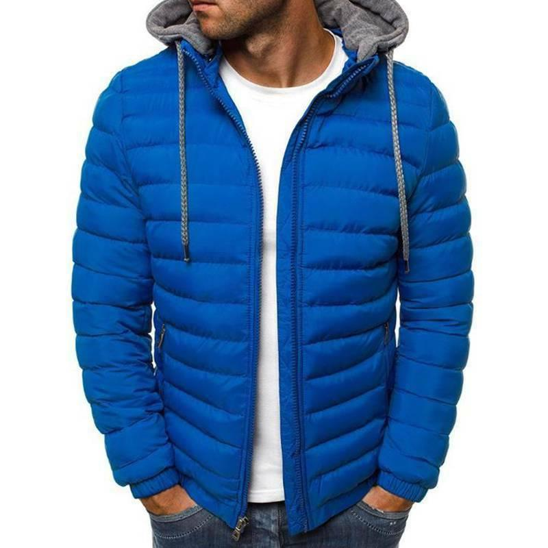 Men's Coat Quilted Outerwear