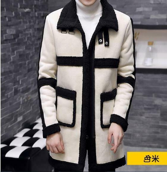 Men's Fur Lined Casual Coats Jackets Winter