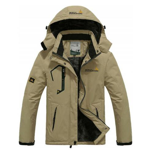 Parka Winter Coats Windbreaker