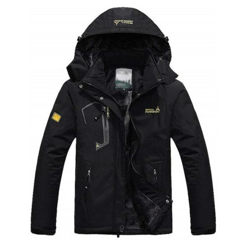 Men's Snowboard Parka Winter Coats Outdoor