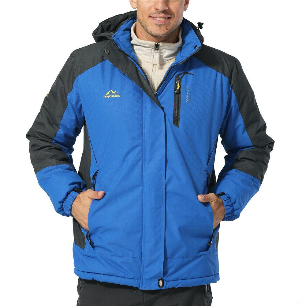 Men's Ski Winter Parka Fleece