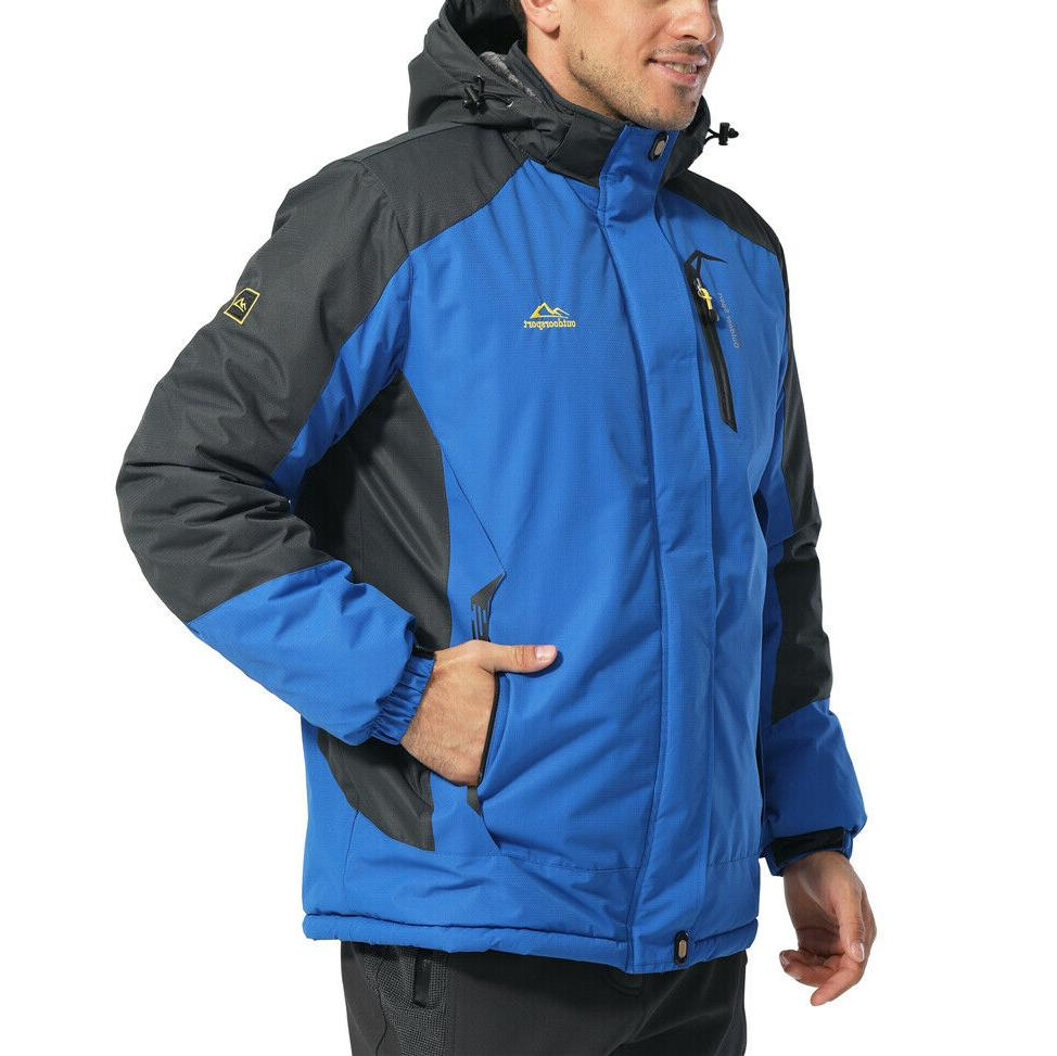Winter Jackets Hiking Parka Fleece