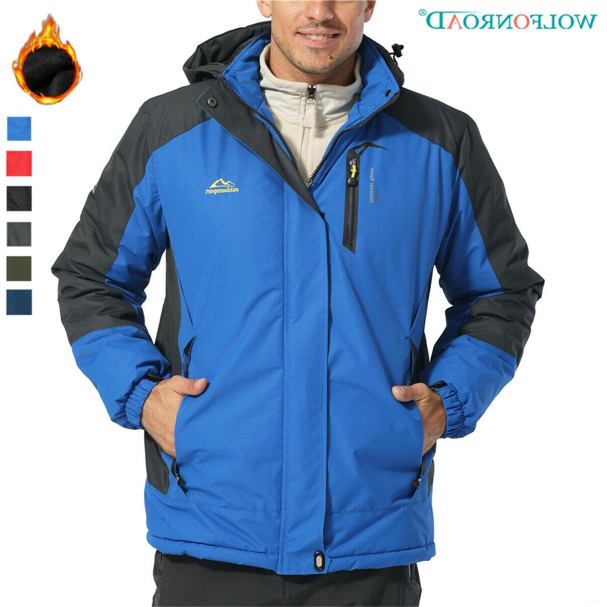 men s ski snowboard thicken winter jackets