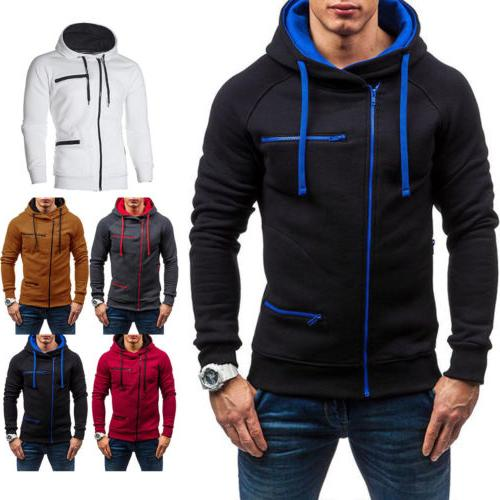 Men's Hoodie Hooded Sweatshirt Jumper Winter Sweater