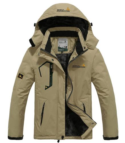 men s waterproof windproof rain snow jacket